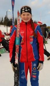 Karen Amalie godt fornøyd med sprinten lørdag