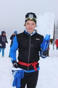 Totalvinner i herreklassen Petter Reistad, Bærums Verk